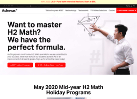 H2 arithmetic tuition